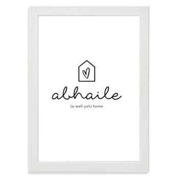 Decorate your home print abhaile