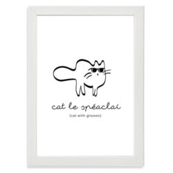 kid room-print-cat-le-speclai