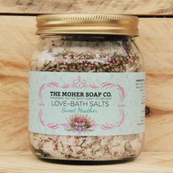 Bath Salts - Love - Sweet Heather